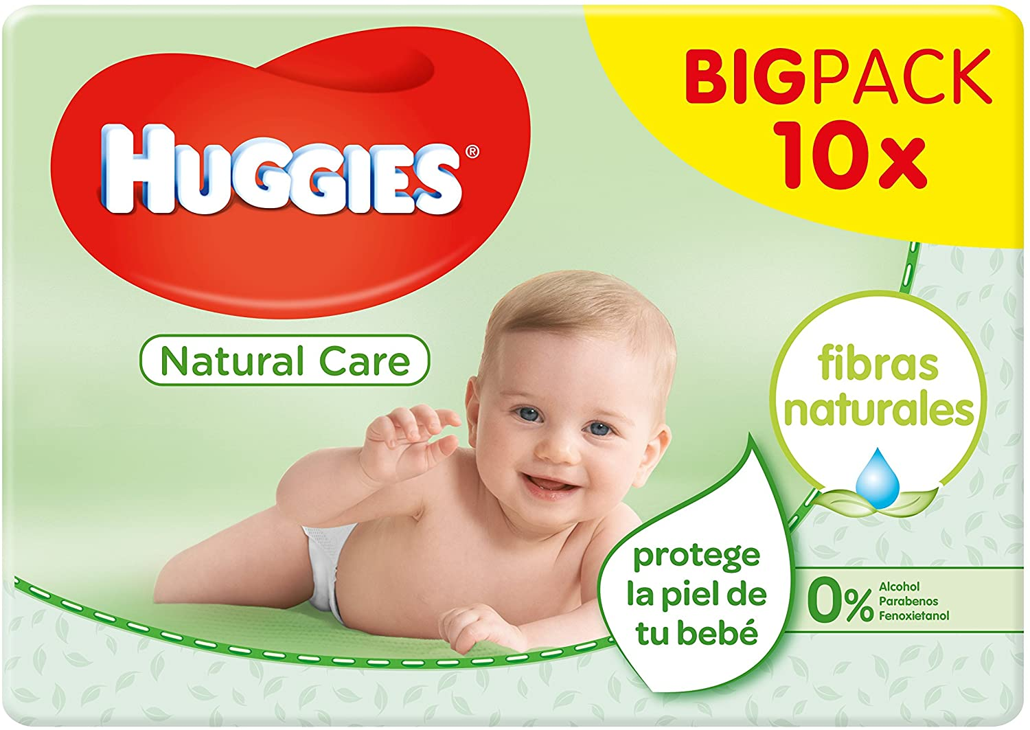 560 Toallitas Huggies Natural Care