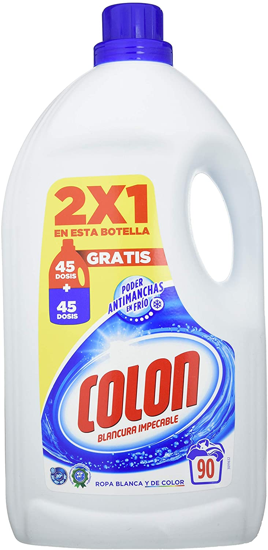 90 Lavados Detergente Colón 4,5 litros
