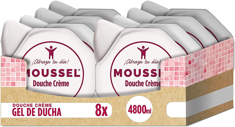 8x Geles de ducha Moussel