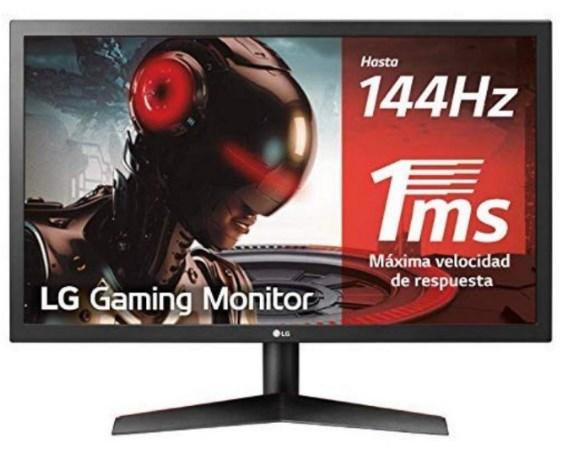 """Monitor LG 24"""" FHD 144Hz FreeSync"""