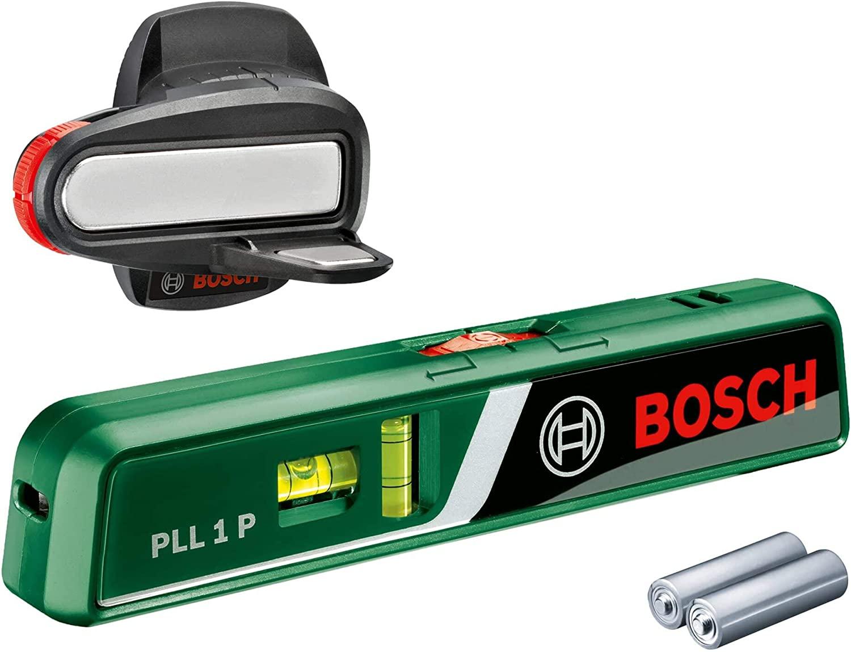 Nivel de burbuja con láser Bosch PLL 1P