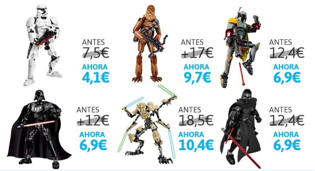 Figuras de acción articuladas de Star Wars