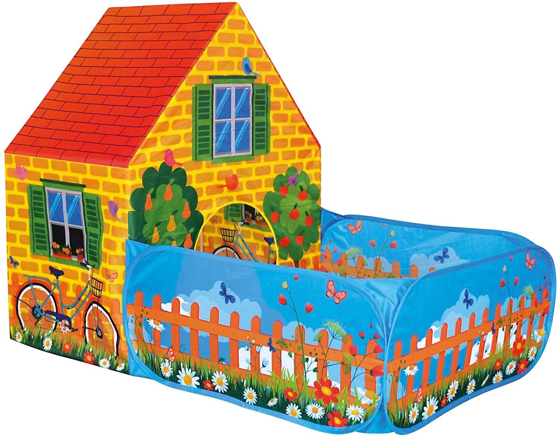 Casa Tienda de campaña con jardín para niños