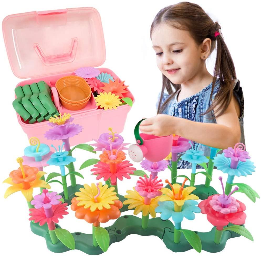 Kit de construcción de Jardines de Flores