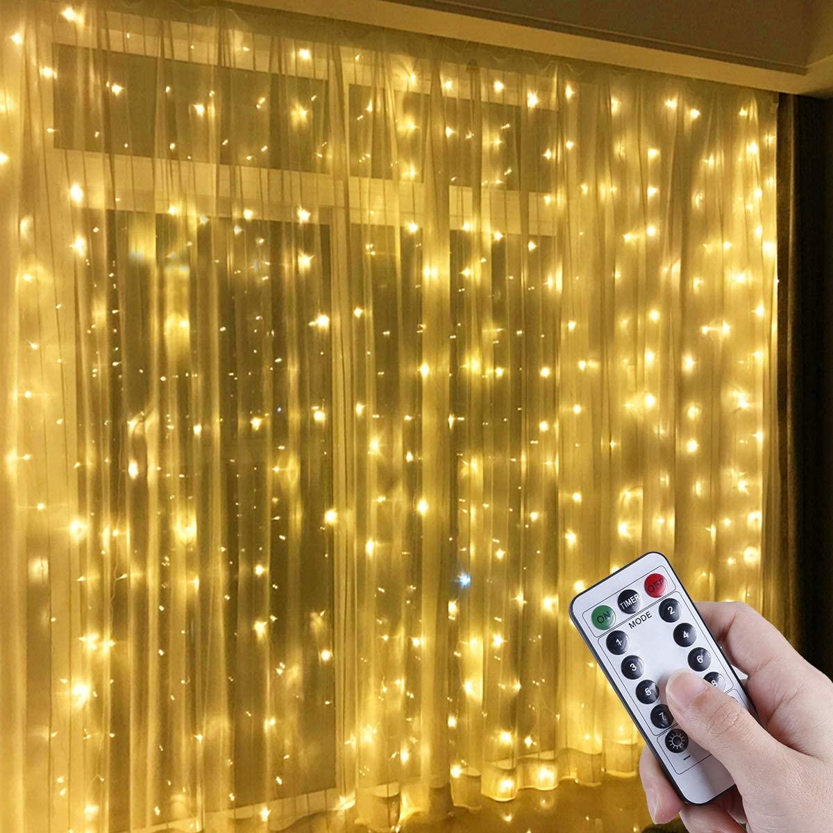 Cortina LED USB 3x3m