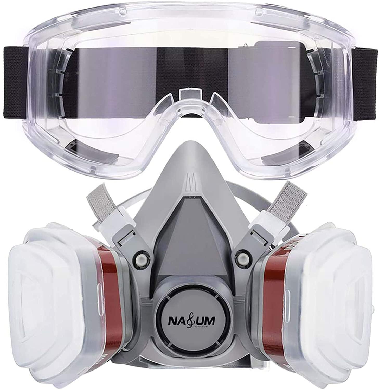 Cubierta facial antipolvo