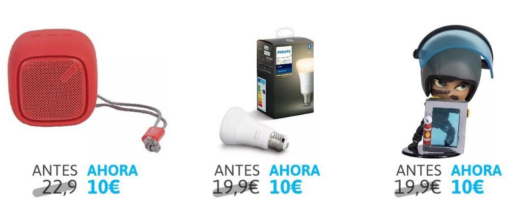 100 Productos a 10€ cada uno en Mediamarkt