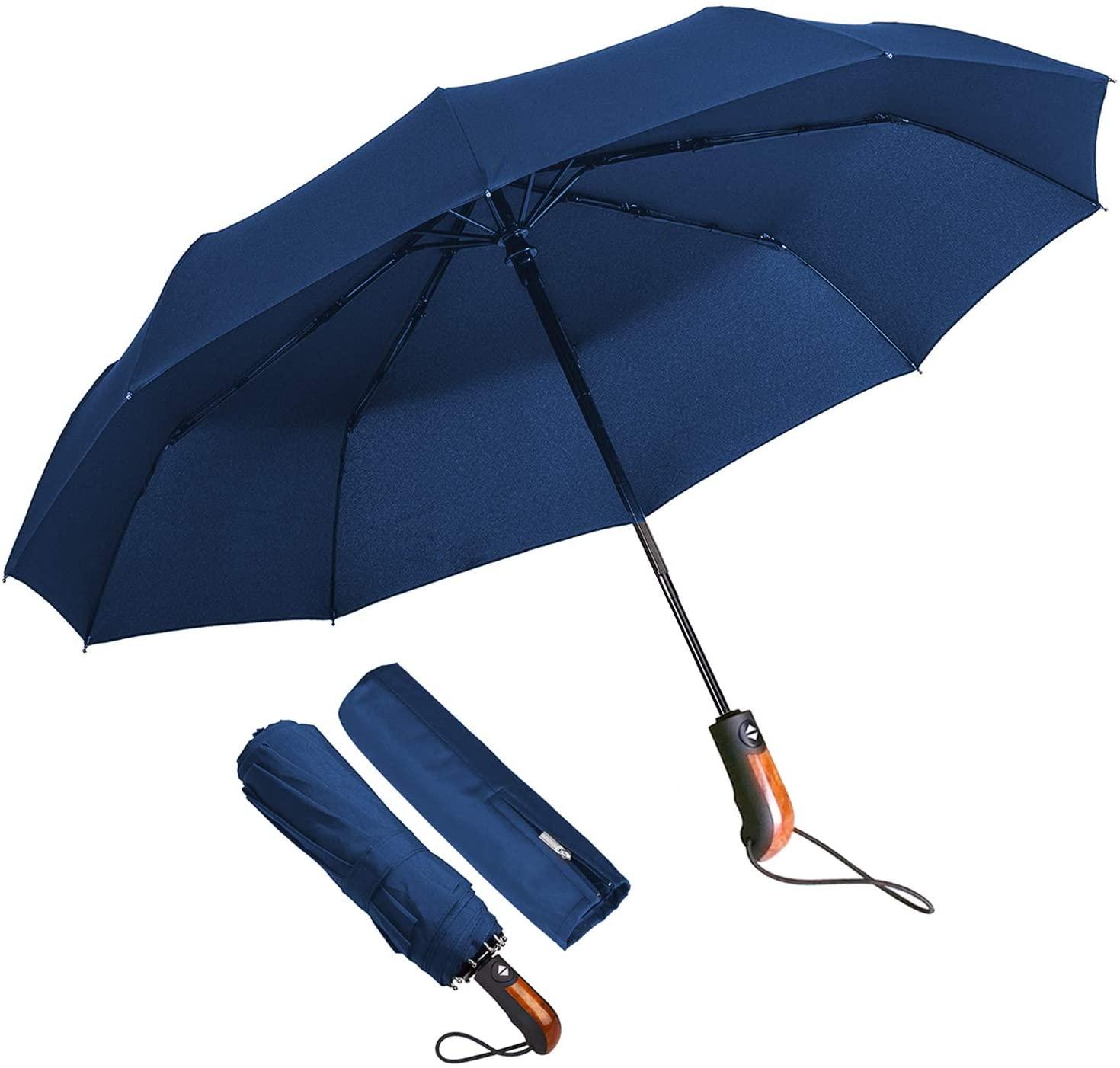 Paraguas plegable compacto