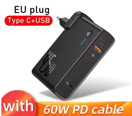 Cargador-Powerbank Baseus 45W QC 10000mAh