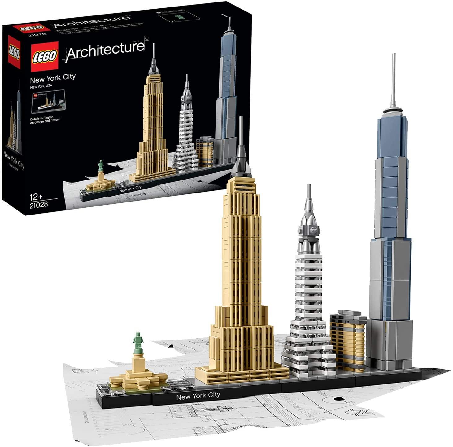 Set LEGO Architecture: Nueva York