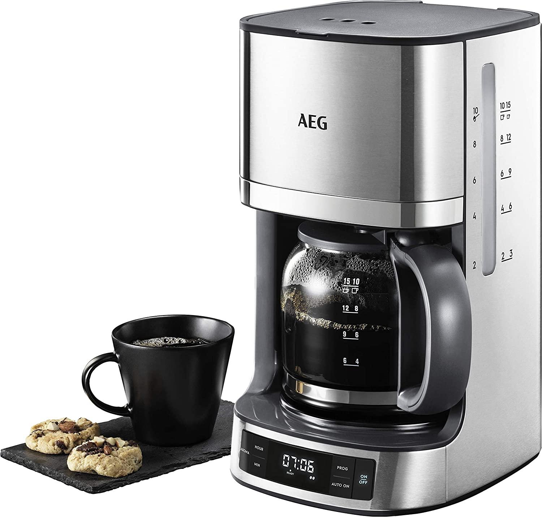 Cafetera programable AEG 1100W