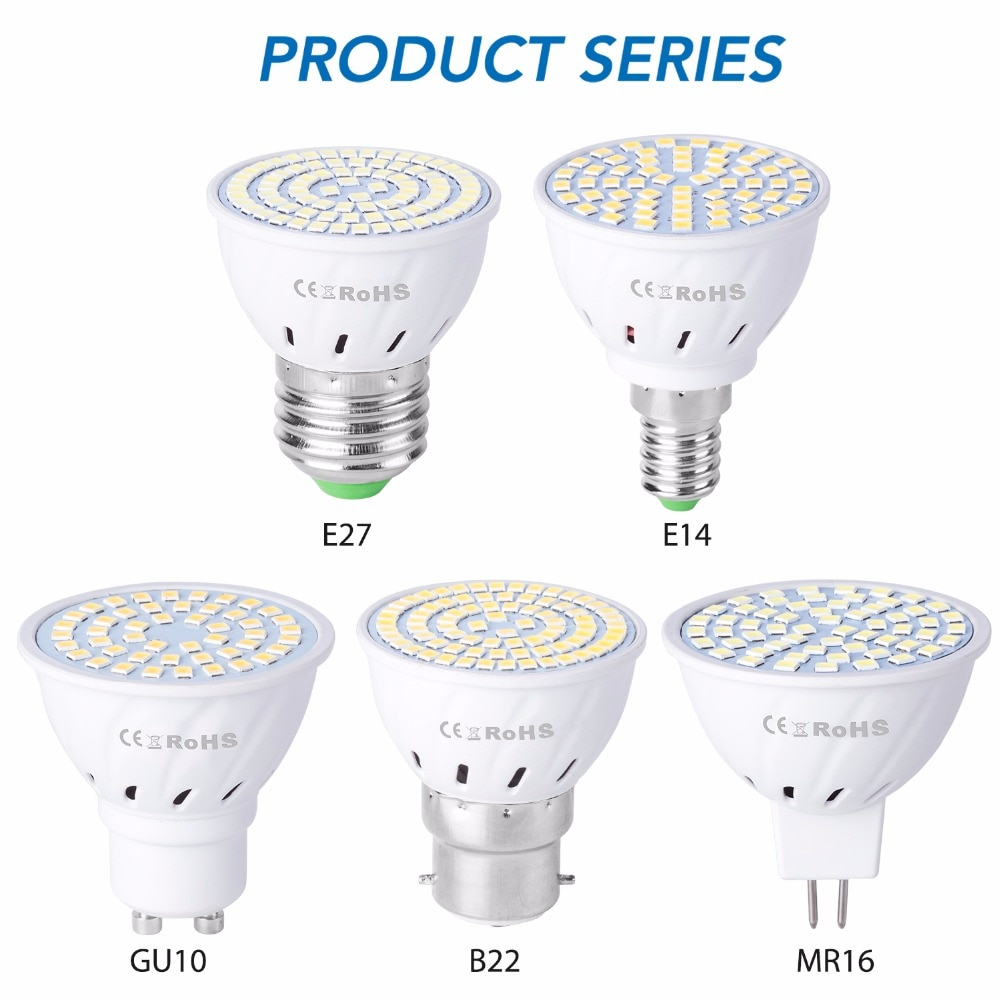 Bombilla LED Diferentes casquillos