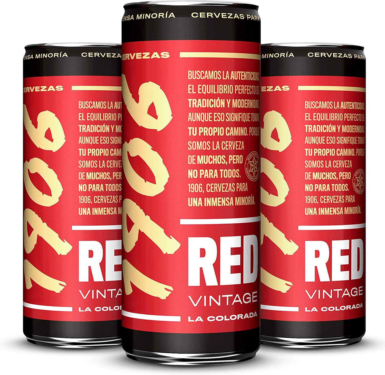 Pack 24 latas 1906 Red Vintage 33cl