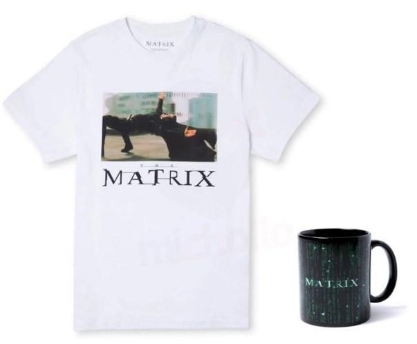 Pack The Matrix Camiseta + Taza