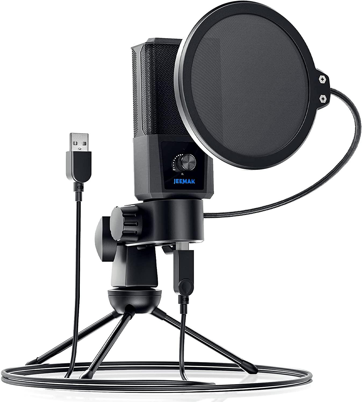 Micrófono de condensador + Accesorios