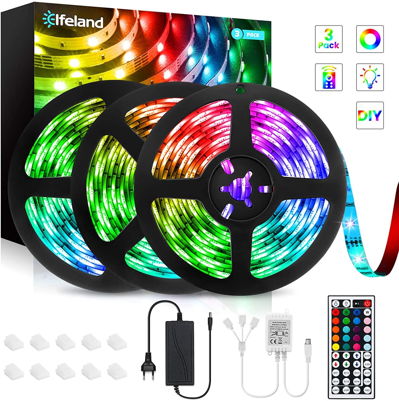 12M Tiras de Luces LED RGB