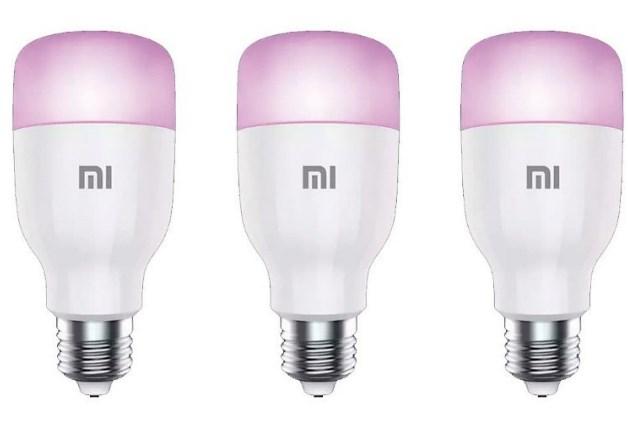 3xBombillas Xiaomi Mi Smart LED Color