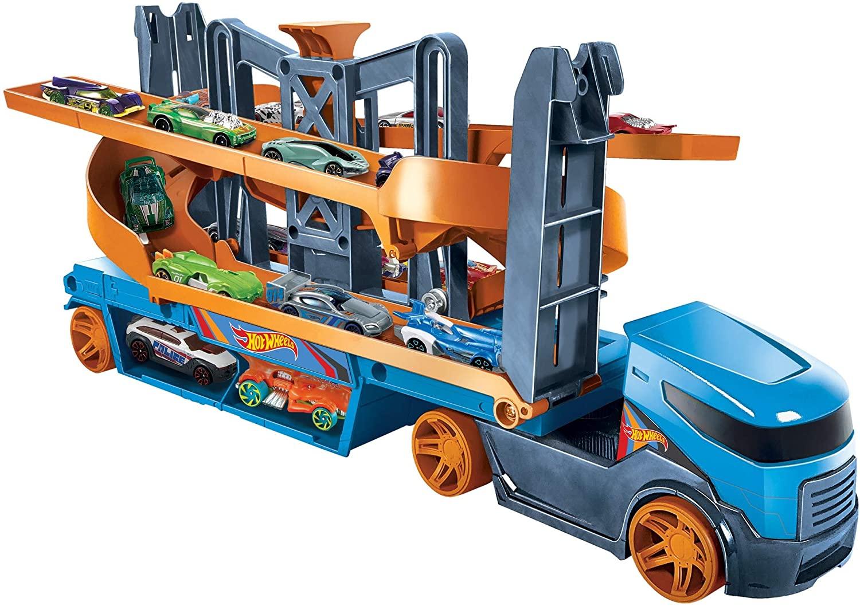 Camión Lanzador de altura de Hot Wheels