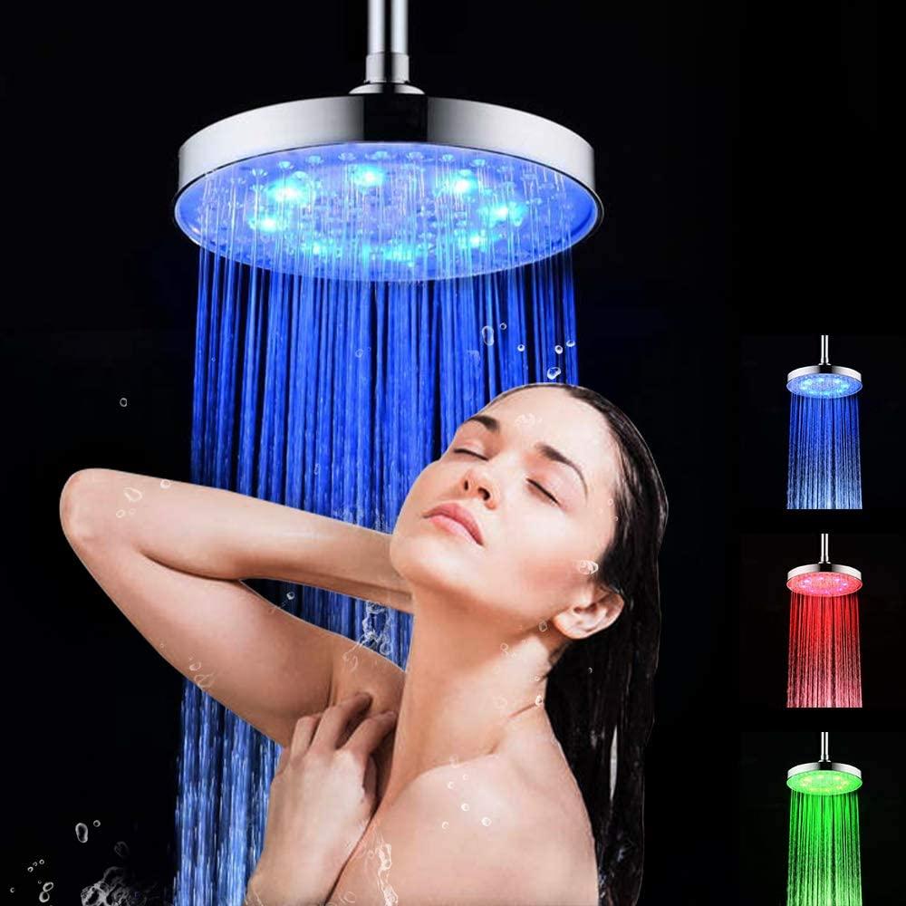 Cabezal de ducha RGB