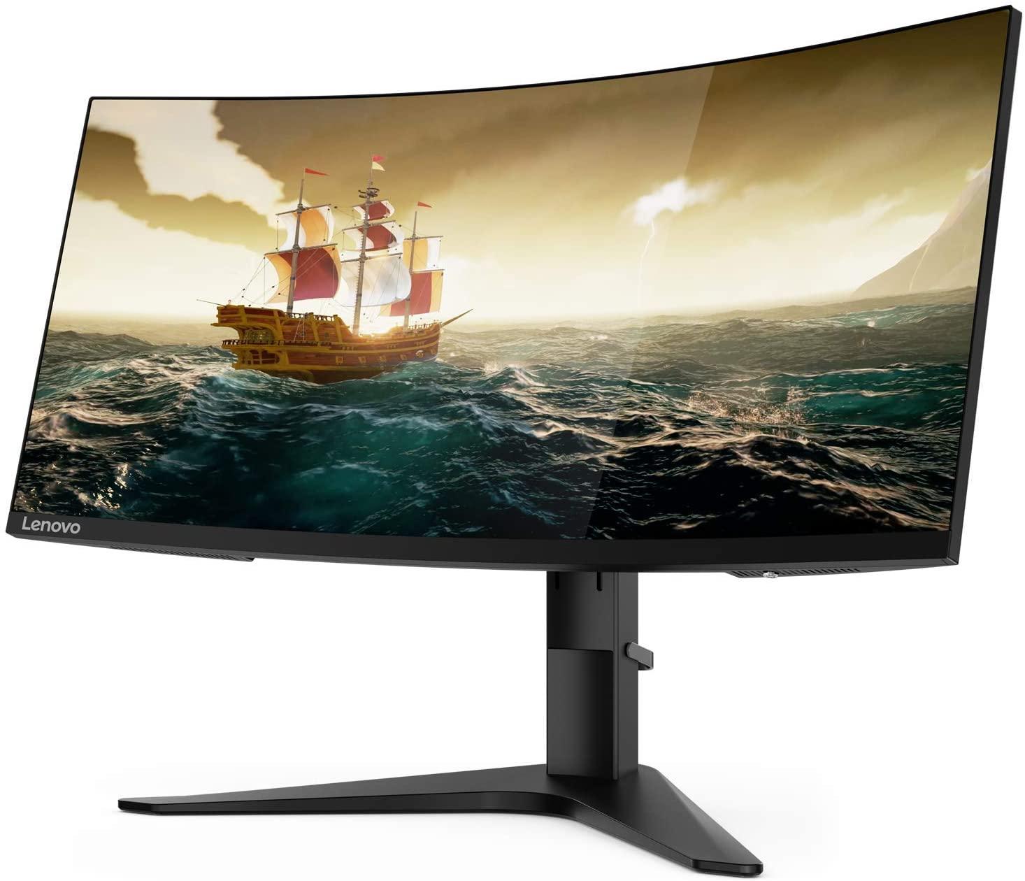 "Monitor Gaming Lenovo 34"" G34w-10 LED WQHD 144Hz"