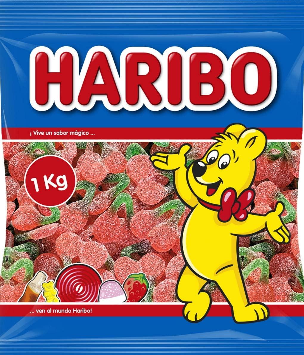 1Kg Haribo Cerezas con azúcar