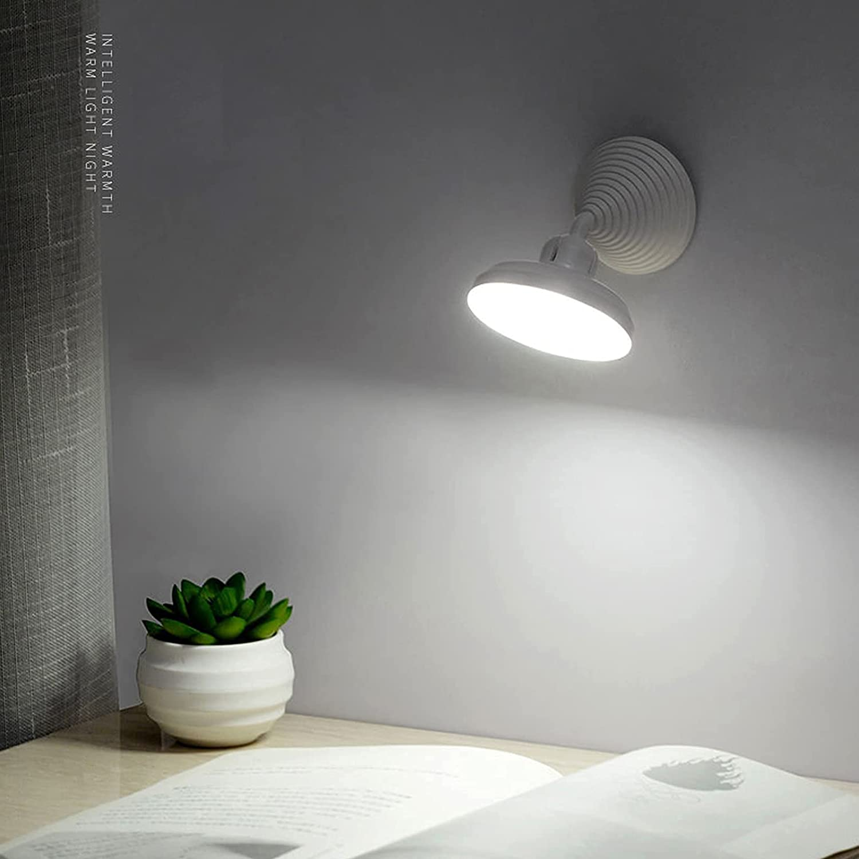 Lámpara LED 360º con sensor infrarrojo