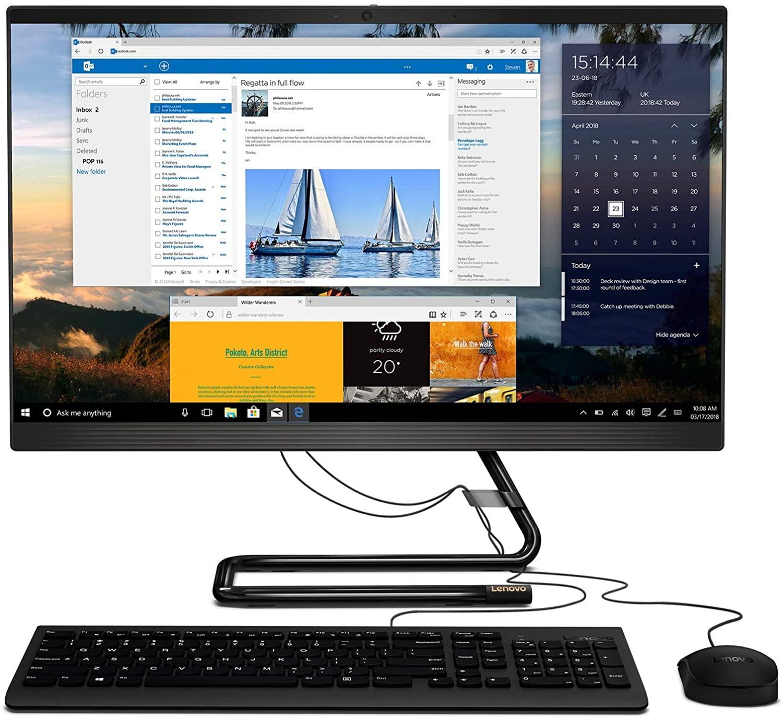 Lenovo IdeaCentre AiO Ryzen3 8GB 512GB SSD