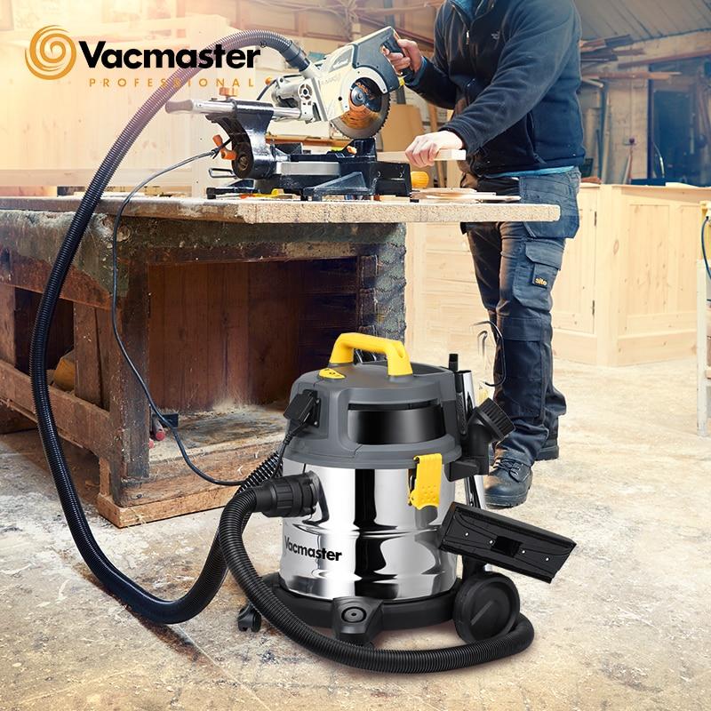 Aspiradora húmedo y seco Vacmaster Professional 20L1600W