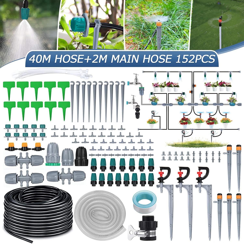 Sistema de Riego por Goteo 40M 119 pcs