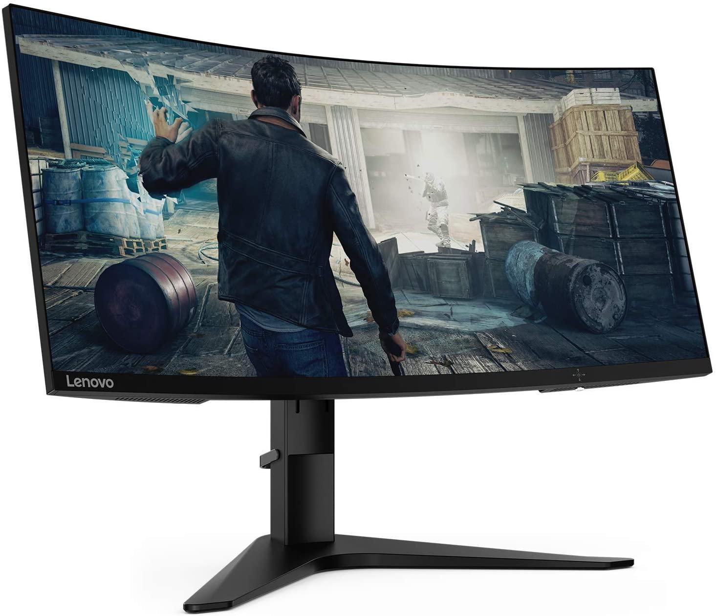 "Monitor Gaming Curvo Lenovo 34"" G34w-10 LED WQHD 144Hz"