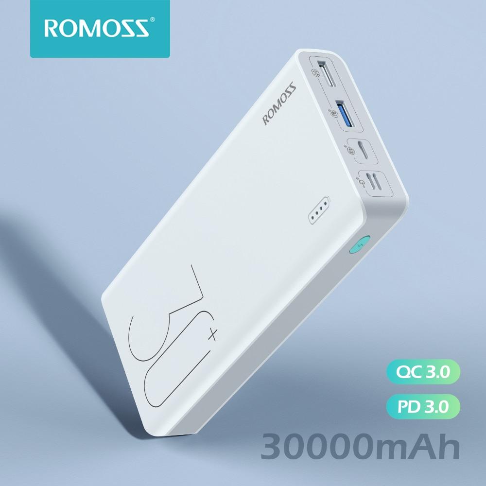 Powerbank 30000mAh QC 18W ROMOSS