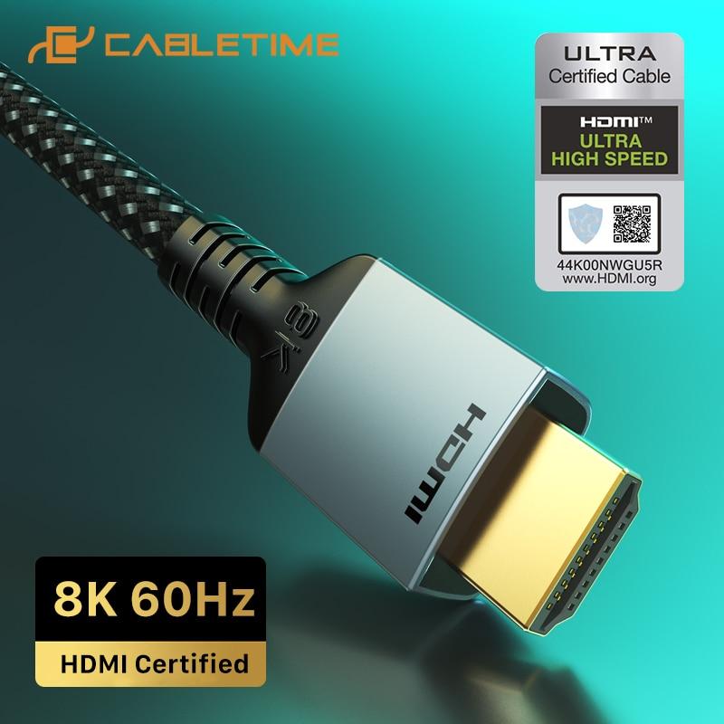 Cable HDMI 2.1 8K 60Hz