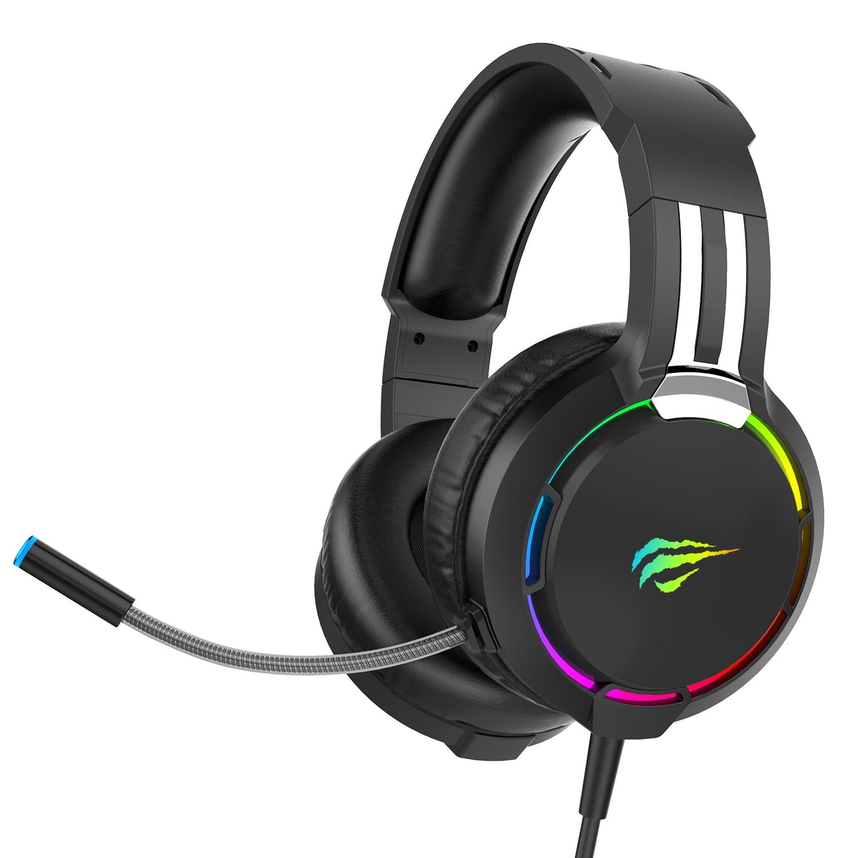 Auriculares Gaming Havit RGB