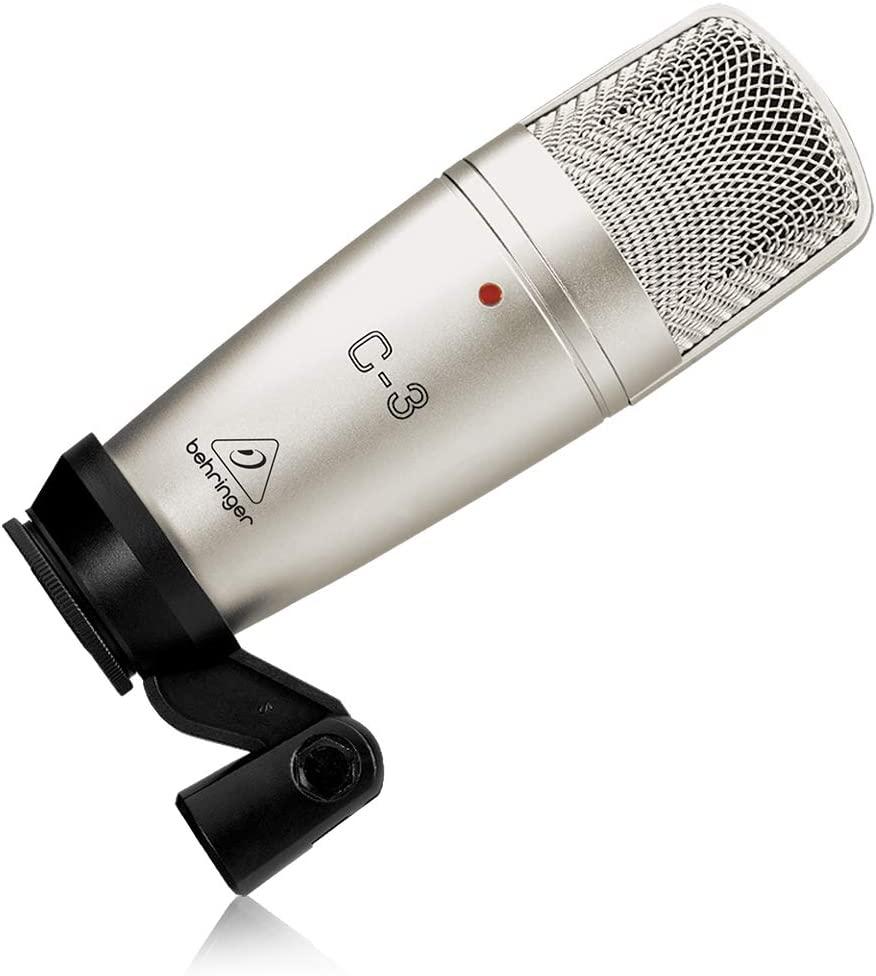 Micrófono de estudio Behringer C-3