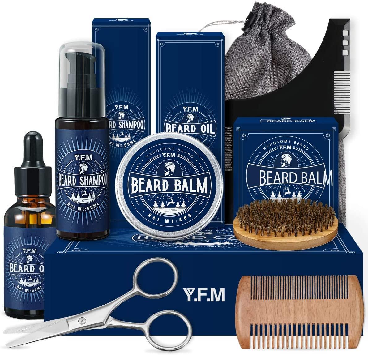 Kit 9 en 1 para el cuidado de la barba