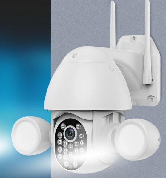 Cámara Exterior IP WiFi +Rj45 Tuya PTZ IP65