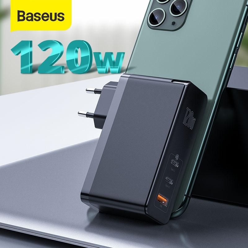Cargador Baseus GaN 120W