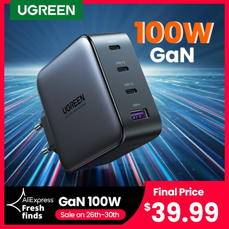 Cargador Ugreen 100W