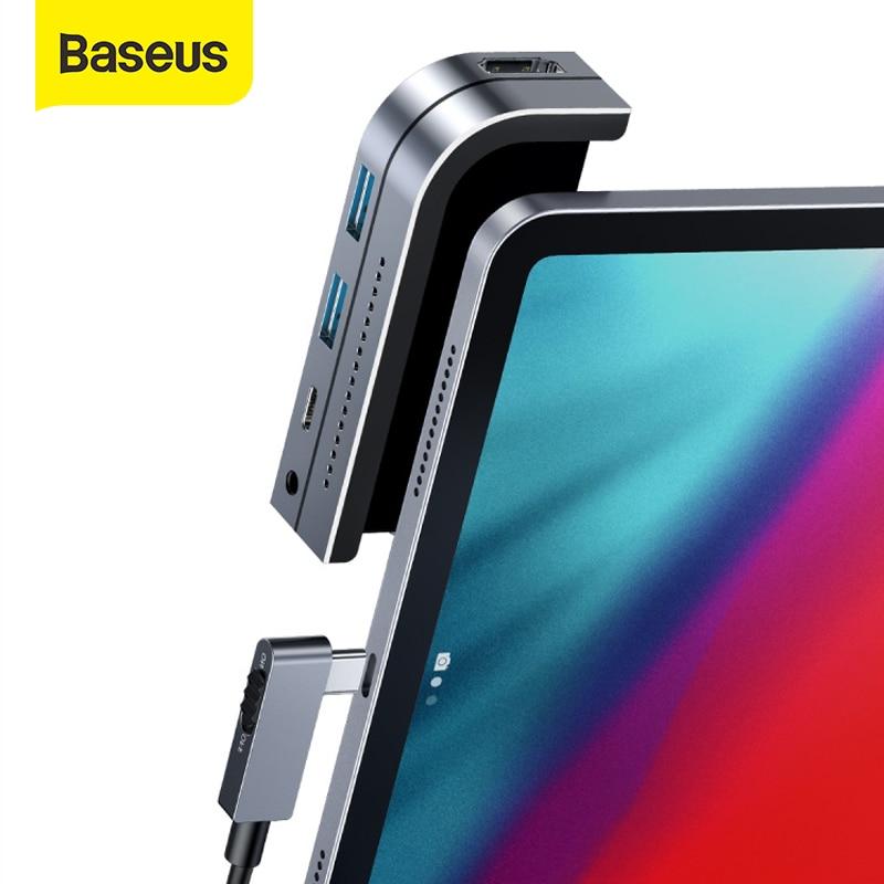 HUB USB Tipo C 6en1 Baseus