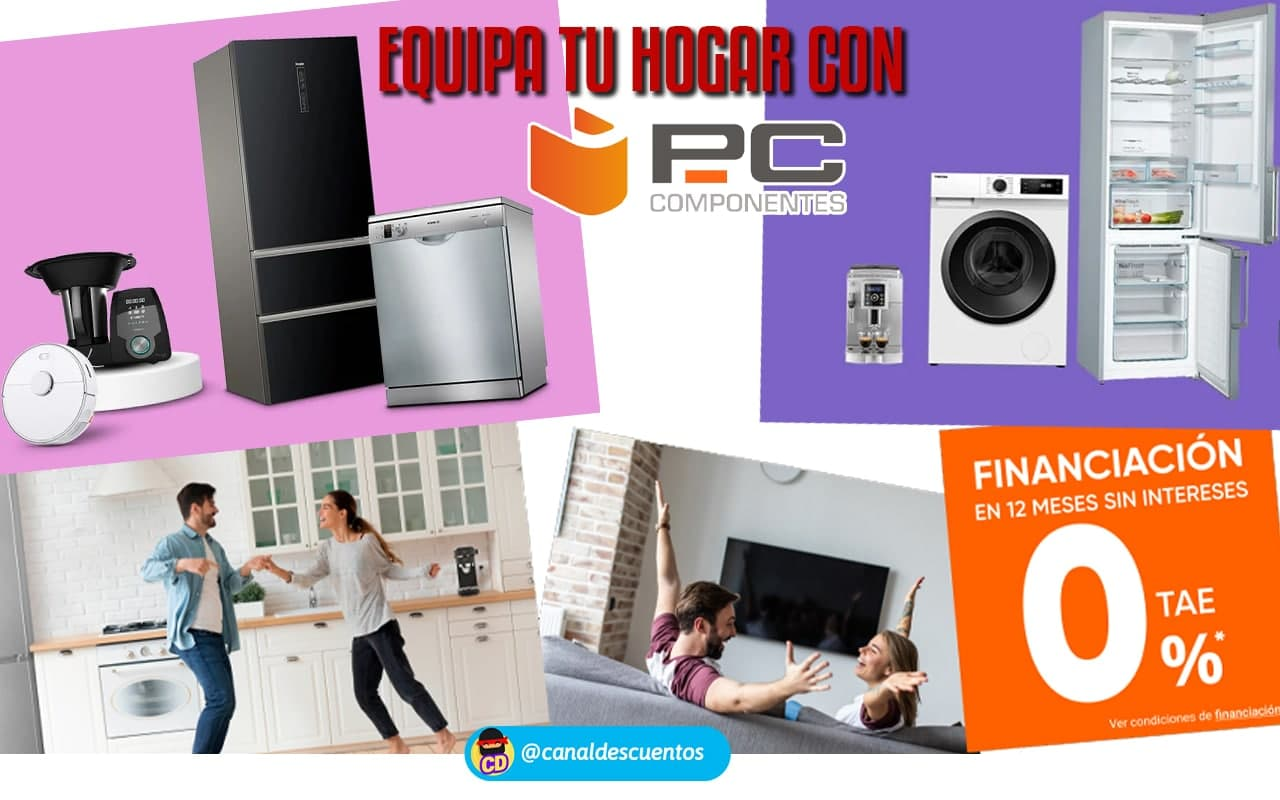 Promoción Equipa tu hogar con PCComponentes