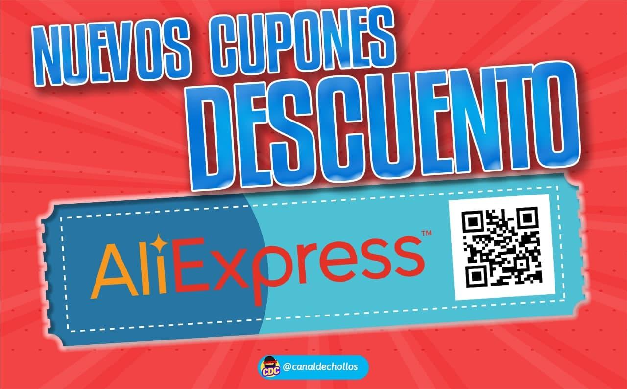 Nuevos cupones descuento para selección de productos en Aliexpress