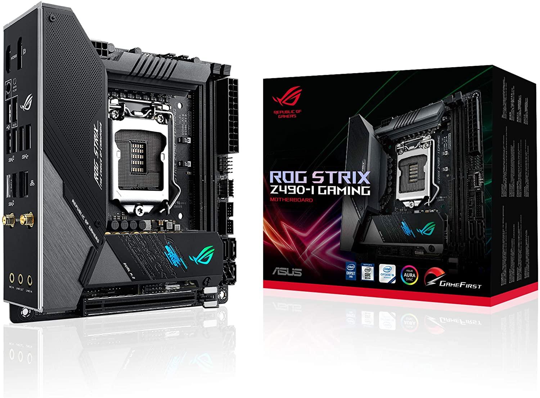 Placa base ITX ASUS ROG STRIX Z490-I GAMING