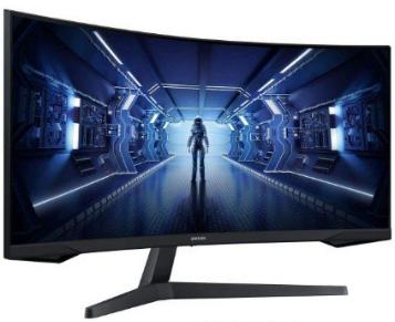 """Monitor Gaming Curvo Samsung Oddysey G5 34"""" UWQHD 4K 165Hz"""