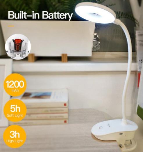 Lámpara de escritorio recargable LED