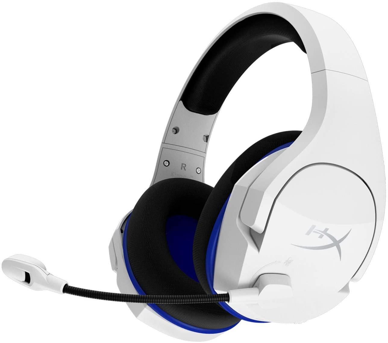 HyperX Cloud Stinger Core: Auriculares inalámbricos para Juegos de PS4, PS5 y PC; Ligeros; Controles deslizantes de Acero duraderos, micrófo