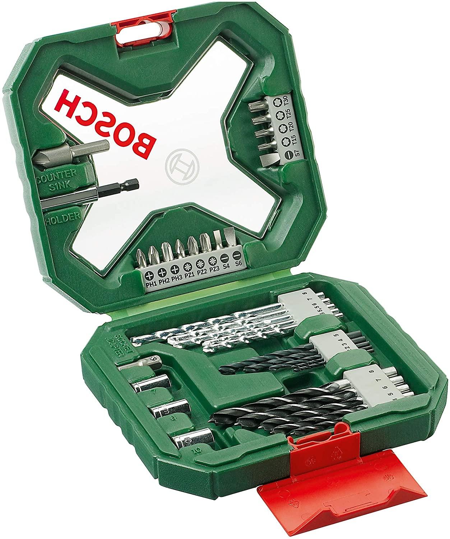 Maletín de 34 unidades Bosch X-Line