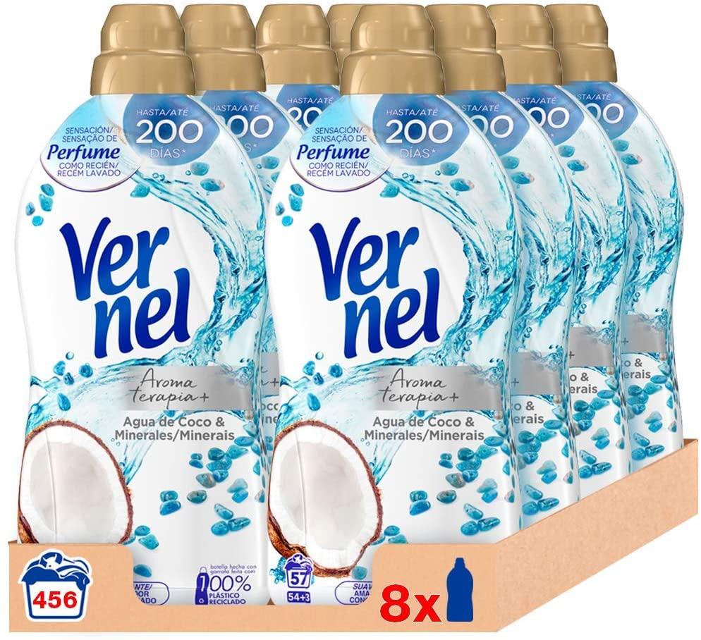 Vernel Suavizante Concentrado Aromaterapia 456 lavados