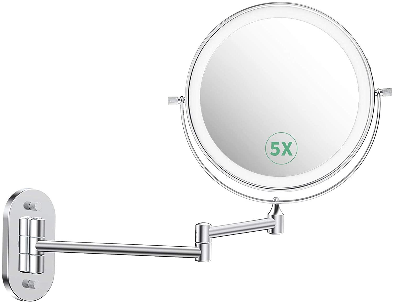 Espejo de maquillaje LED