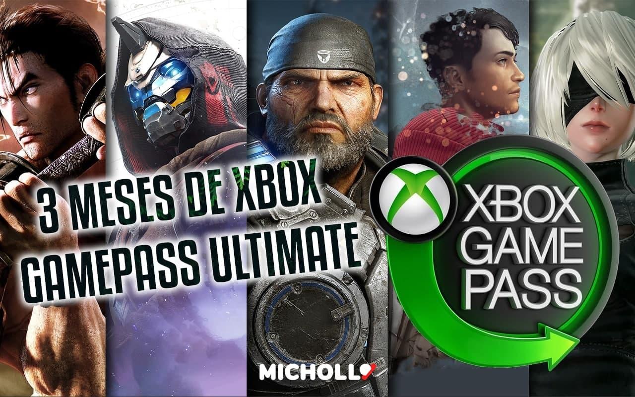 3 meses de Game Pass Ultimate