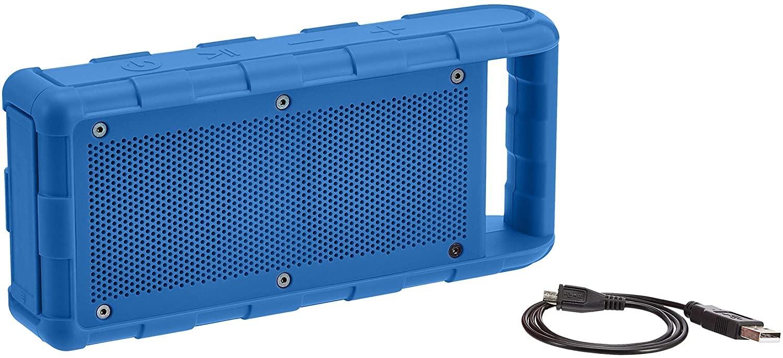 Altavoz portátil impermeable con Bluetooth Amazon Basics 15W